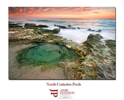 north cottesloe, australian seascape photography, seascape photography, australian landscape photography, sunsets,