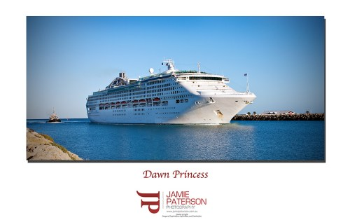 dawn princess, fremantle harbour, australian landscape photography
