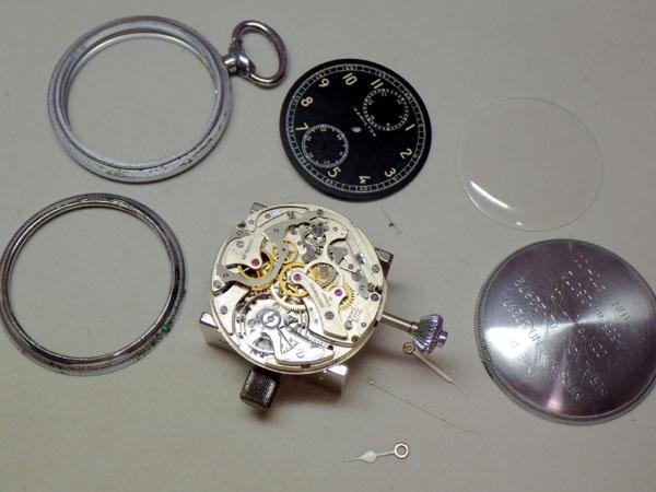 ハミルトン クロノグラフ ポケットウォッチ(懐中時計) アメリカ軍用 MODEL23 HAMILTON