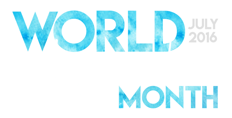 World Watercolor Month, July 2016