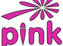 Pink Logo Flower