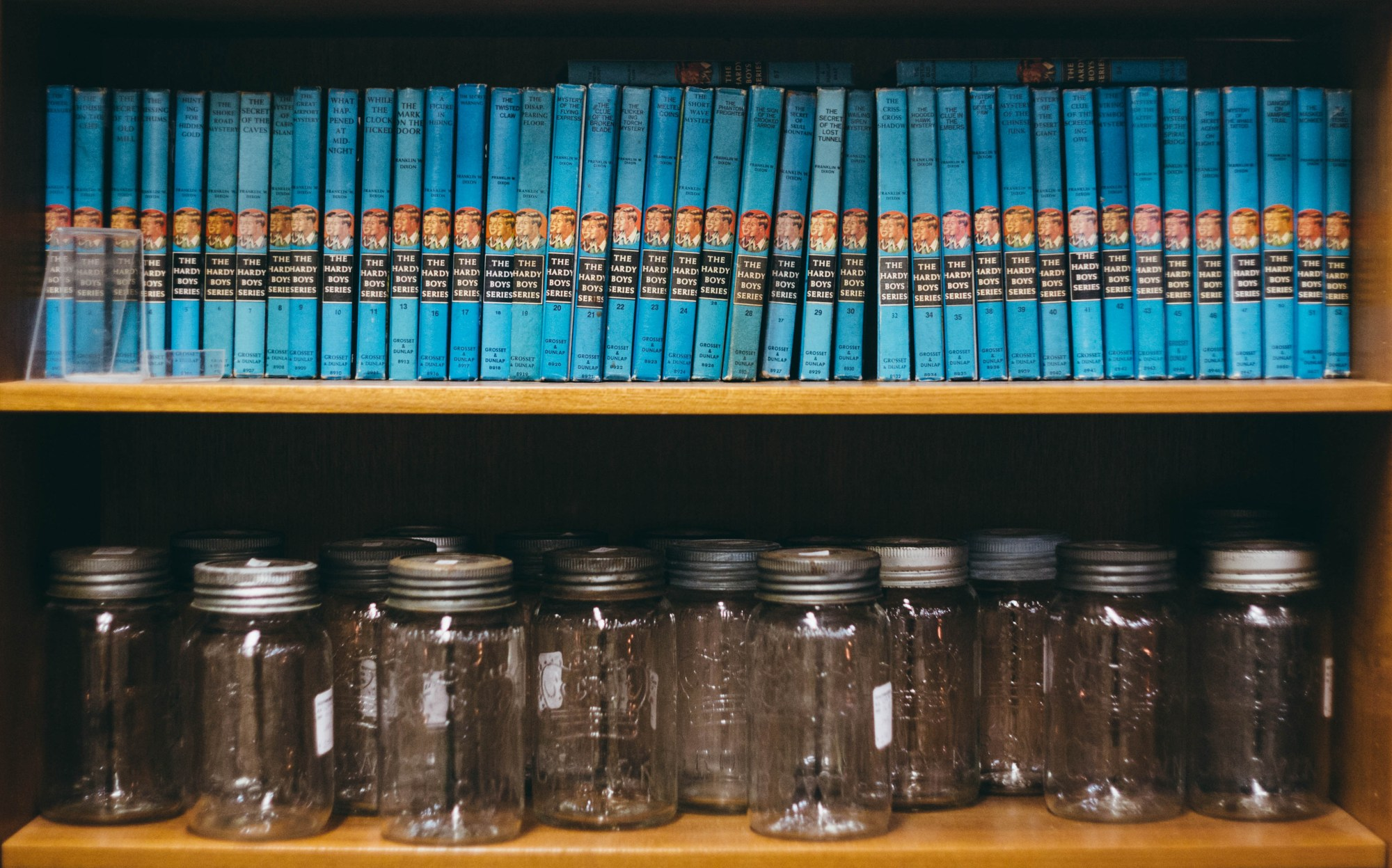 Hardy Boys and Mason Jars