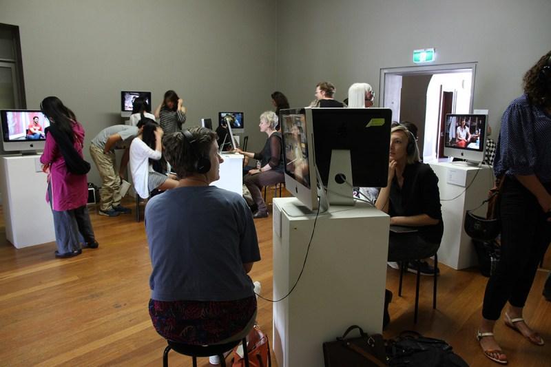 Artist Archive, 2005- 2015. Anne Kay & Jane Polkinghorne, Sydney College of the Arts Sydney. Installation view