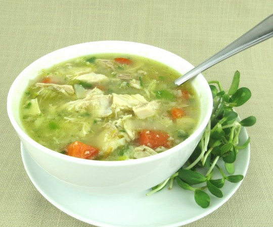 Paleo Chicken Rice Soup