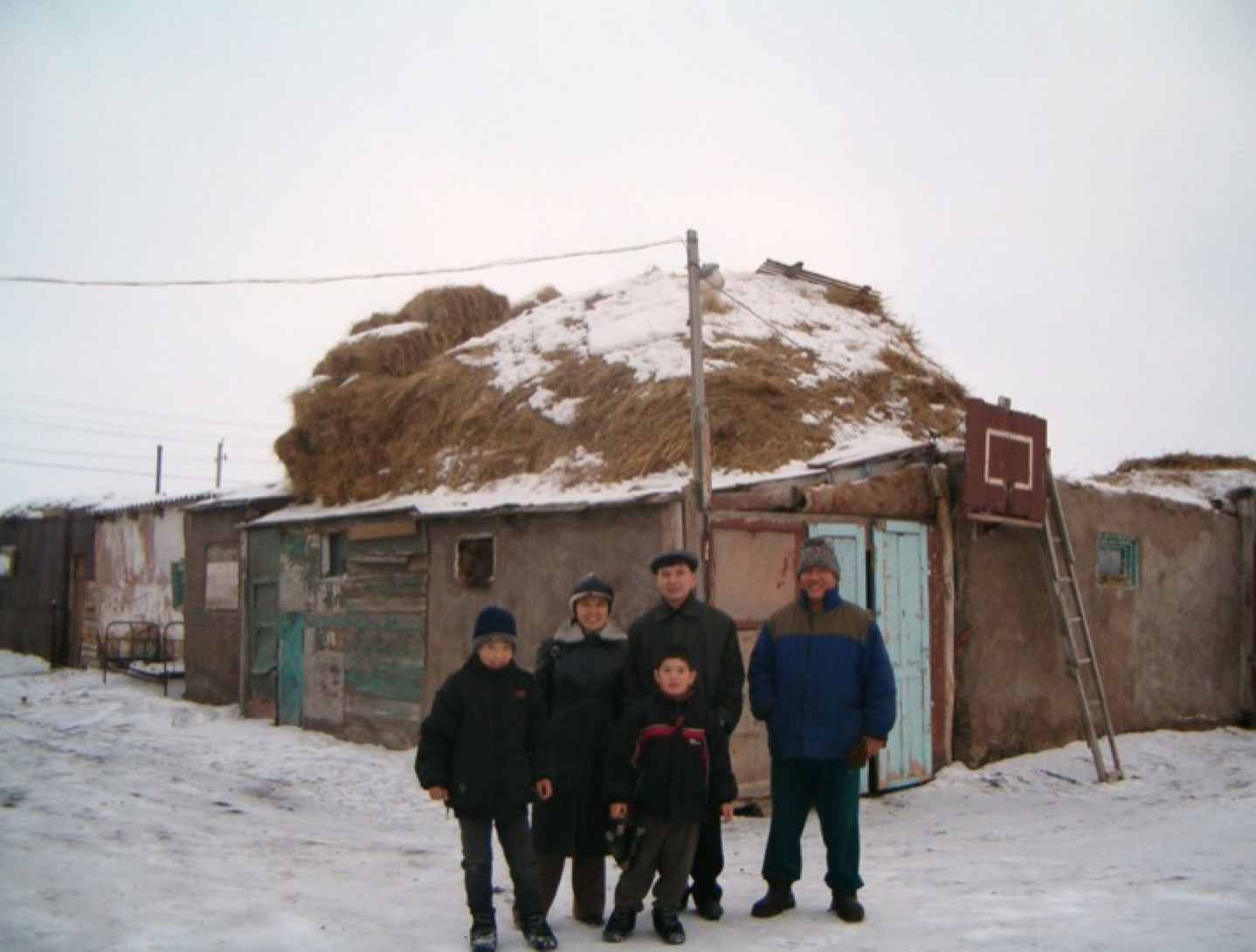 Janet Givens - At Home on the Kazakh Steppe, photos