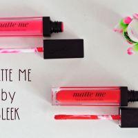 Matte me by SLEEK, le rouge à lèvres qui va matter vos lèvres