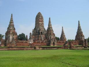 Wat Chai Watthanaram.