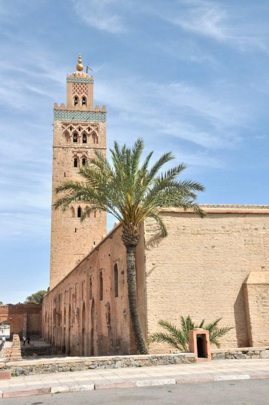 Najwyższy i najstarszy minaret w Maroko. 69m.
