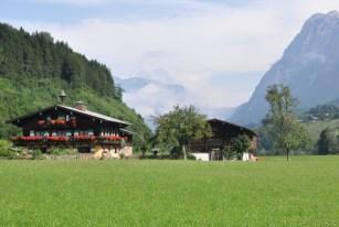 Nasza miejscówa: Pfarrwerfen (3 km od Bischofshofen).