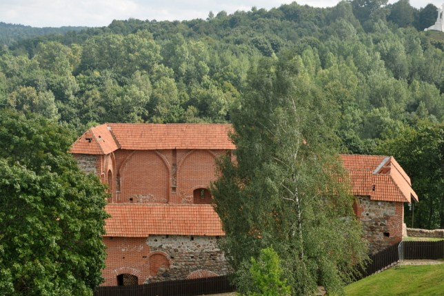 Średniowieczny Zamek Górny wzniesiony przez Giedymina w XIV (wielki książę litewski, założyciel dynastii Giedyminowiczów, dziadek Jagiełły).