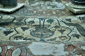 Babtysterium ma niesamowicie zachowane mozaiki.