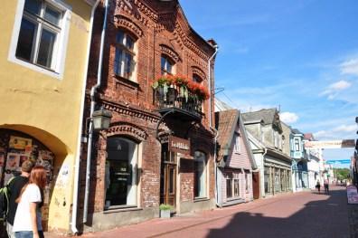 Pärnu - letnia stolica Estonii. Taki tamtejszy Sopot.