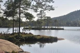 Jezioro Tärnättvatten, 162 mnpm.
