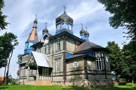 Puchły, cerkiew Opieki Matki Bożej, 1913 r.