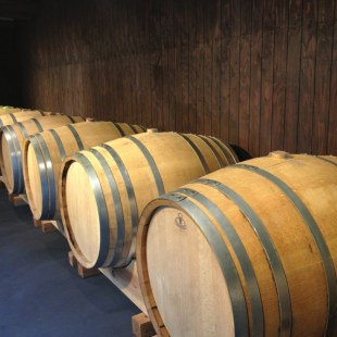 Barley wine aging at Swan Lake Brewery