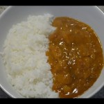 Japanese Instant Curry Sauce and Rice