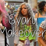 Transformation to GYARU with Black Diamond in Japan