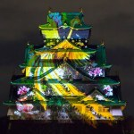 2015 New Year 3D Mapping Super Illumination at Osaka Castle