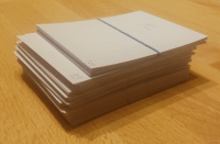 As little as 128 kanji can turn into a massive heap of flashcards
