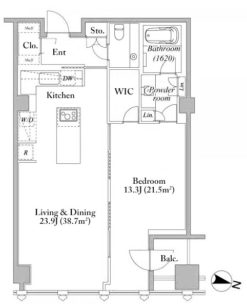 Hirakawacho mori tower residence 19f japan property central for Freehold motor vehicle inspection station