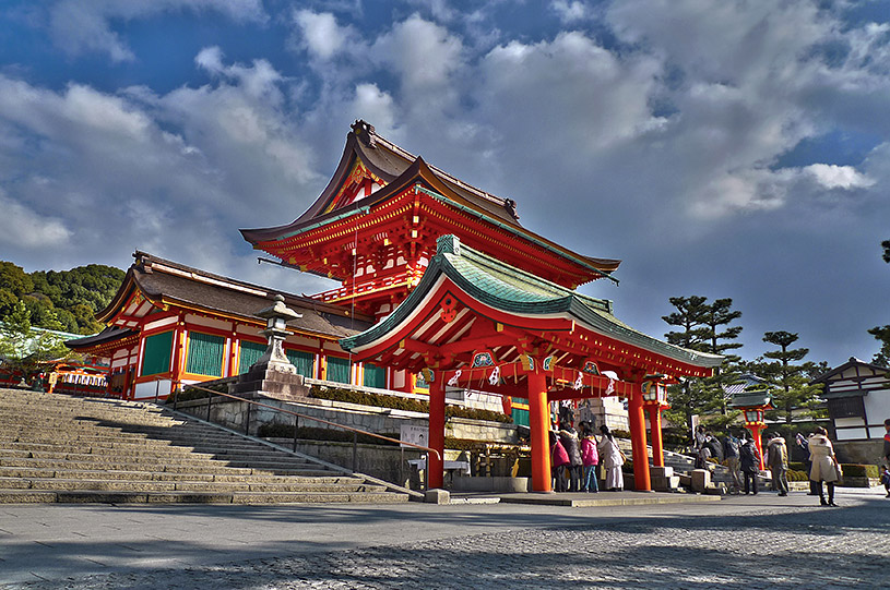 Fushimi Inari Shrine's Main Gate