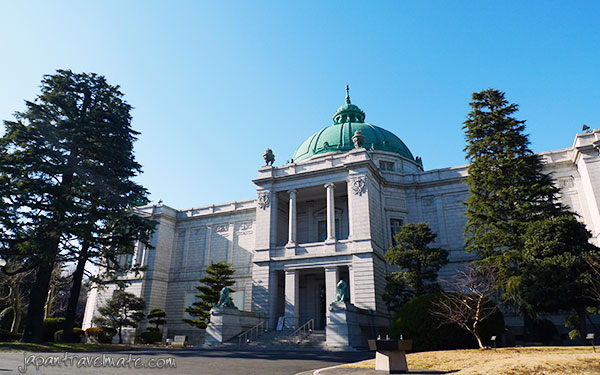 Hyokeikan (Asian gallery) of the Tokyo National Museum
