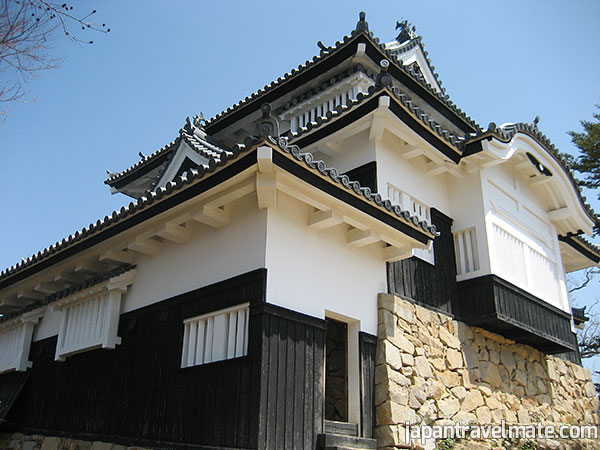 "A ""yagura"" (turret or keep) of Bitchu Matsuyama Castle."