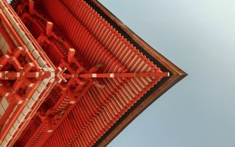 Mighty Tower Gate, A Unique Perspective, Shimogamo-jinja, Kyoto
