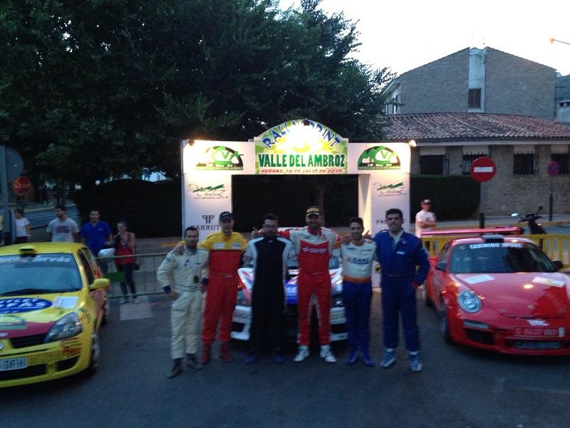 Pa�ella y Crespo ganan en el III Rallysprint Valle del Ambroz