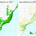 Mapa Comparativo Incidncia Mata Atlntica