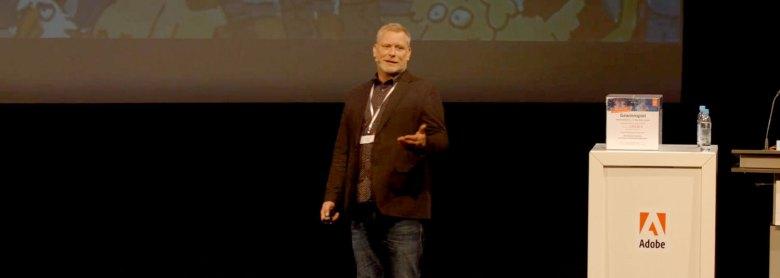 Markus Jasker auf den Digital Marketing Days 2016