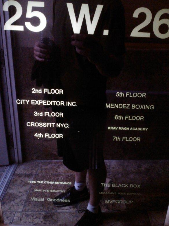 CrossFit NYC Lobby