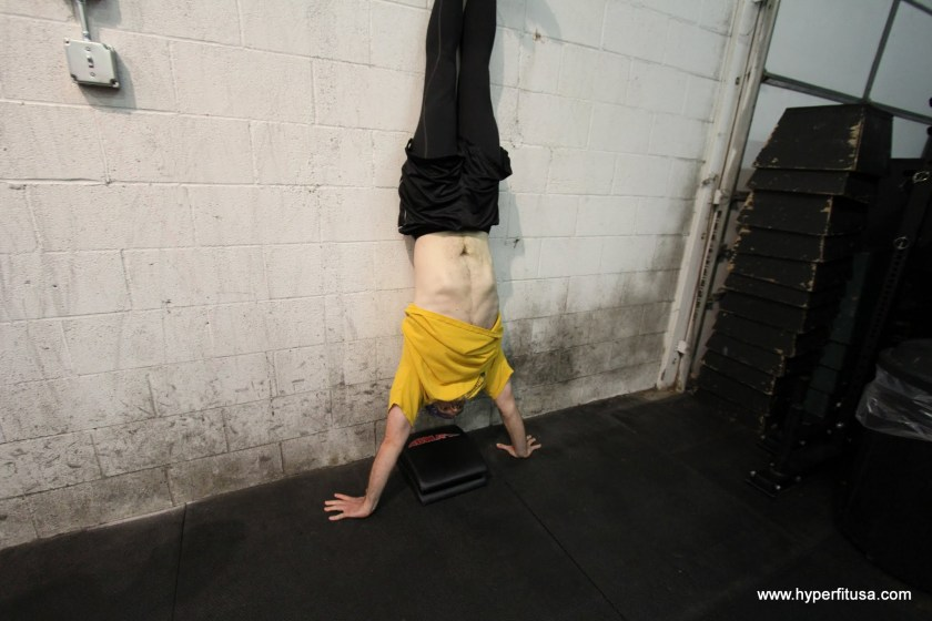 Jason Harper Handstand Push-Up CrossFit Diane