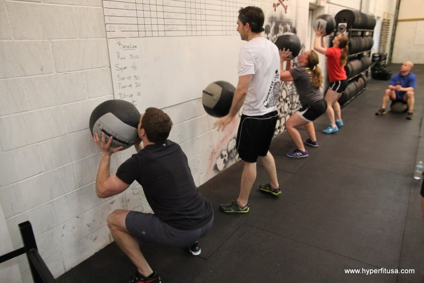 CrossFit Games Wallballs