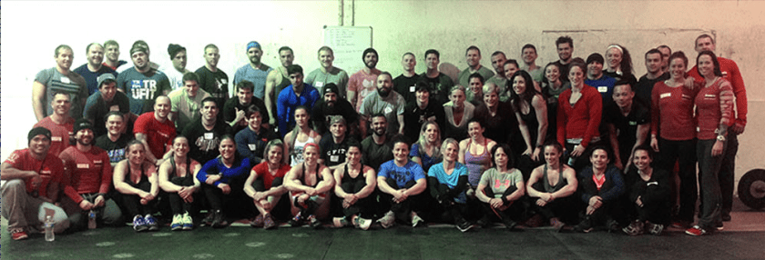 Group Photo Level I CrossFit Trainer Class