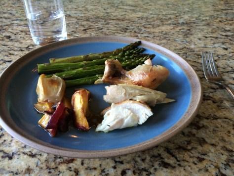 Paleo Autoimmune Protocol Dinner