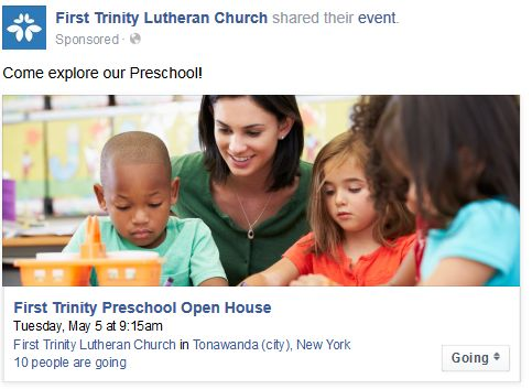 Preschool Facebook Ad 6