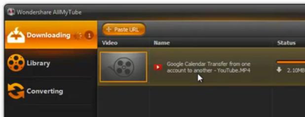 AllMyTube Downloading