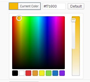wordpress color picker