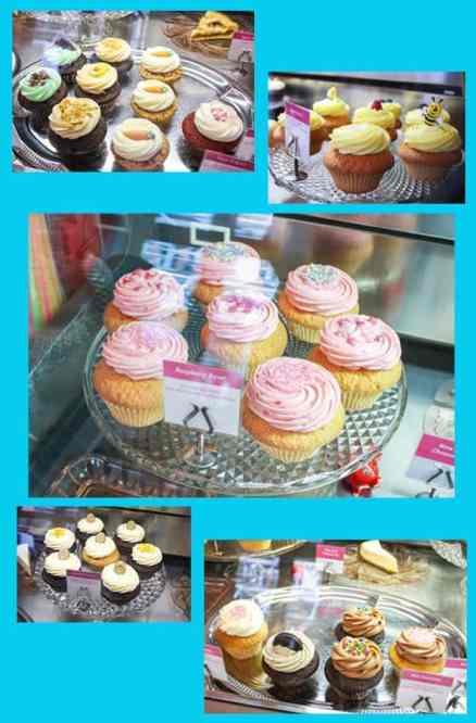 Cupcake Berlin cupcake collage