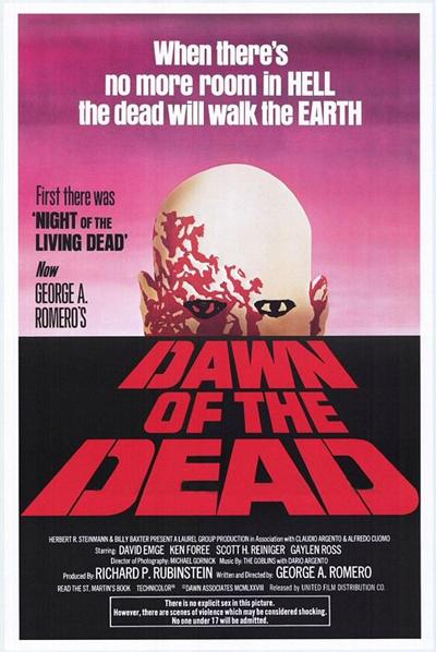 Poster do filme Zombie - O Despertar dos Mortos