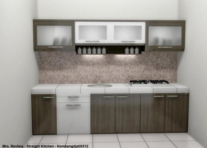 Jenis jenis kitchen set cv jaya gemilang for Kitchen set lurus