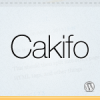 Cakifo, a Free WordPress theme