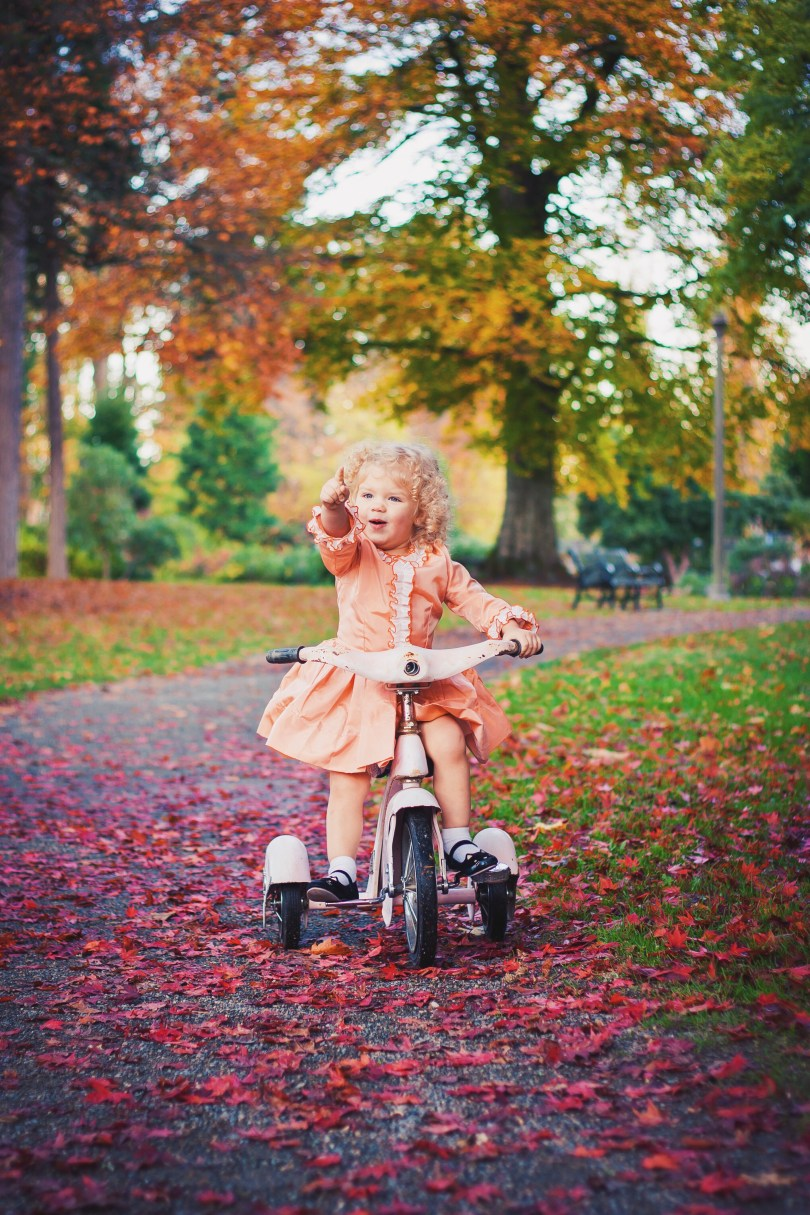 Fall Tricycle Photoshoot