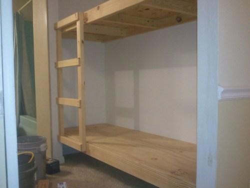 Medium Of Built In Bunk Beds