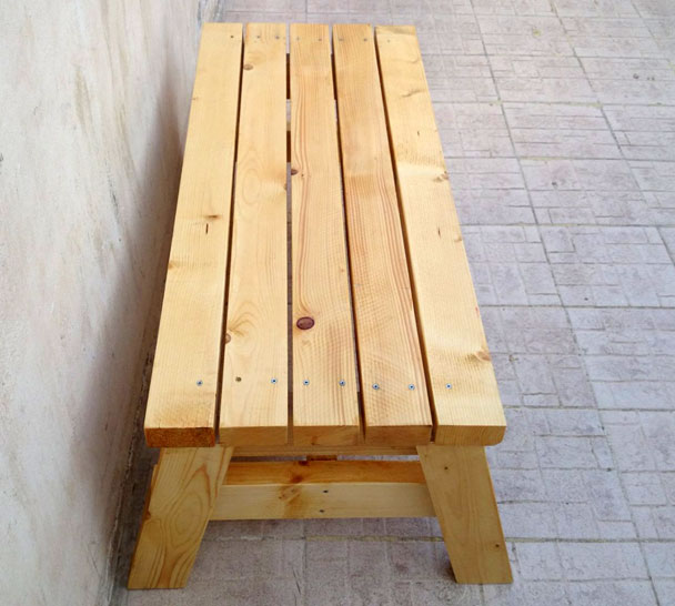 Simple Wooden Bench Designs ~ How to build a simple sitting bench jays custom creations