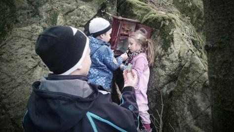 geocaching w okolicach Ålgord
