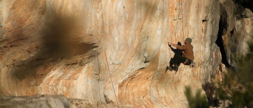 biernie podryfować w wspinaczkowym światku – kilka fot z Siurany