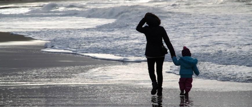 jeszcze jeden spacer po plaży