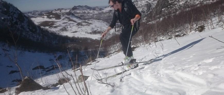 na drodze po jutro niepewne jak każdy mój plan – skitouring w Norwegii